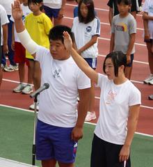 8月23日(日)に開催された陸上競技大会です。