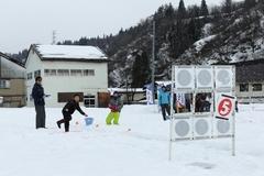 雪まつりイベントを開催しました!