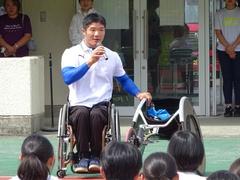 樋口政幸選手の凱旋報告会を行いました!