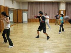 20110213キックボクササイズ&太極舞の体験会