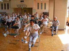 介護・転倒予防教室に行って来ました。