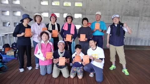 信濃川河岸段丘ウォーキングに参加しました!