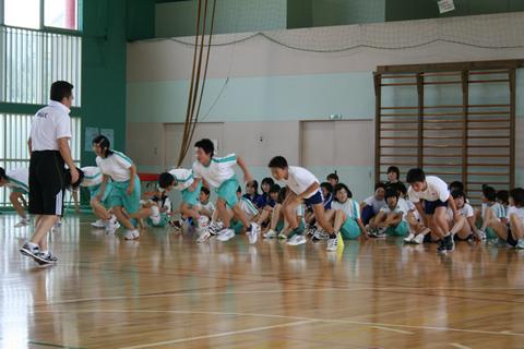 2009.06.12.市内松代小学校にて
